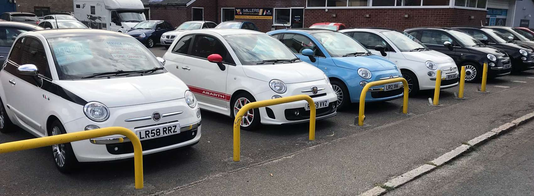 Fiat 500, Fiat Abarths, Colchester, Essex, UK